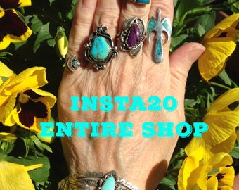 New Promo Code: INSTA20... For 20% Off Entire Shop Until 7/31/17....No MInimum Purchase....Apply At Checkout