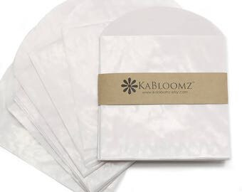 """20 - Glassine Envelopes with Flap, 3.5"""" x 3.5"""", Use for Wedding Favors, Bridal Shower Favors & Baby Shower Favors, Party Gifts, Seed Favors"""