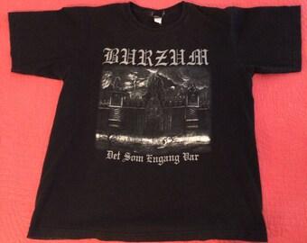 Burzum Det Som Engang Var T-Shirt Norway Black Metal