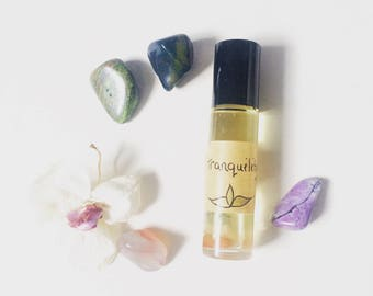 Tranquility Scent - Natural Perfume - Roller Ball Perfume - Essential Oil Blend - Artisan Aromatherapy