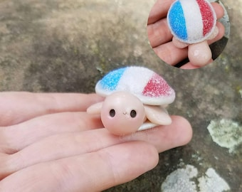 Limited Edition USA Snowcone Turtle