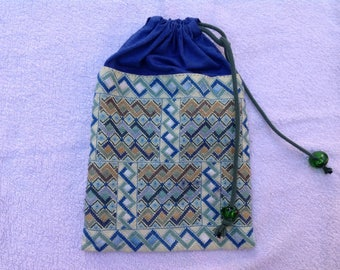 lingerie or jewelry, fully embroidered bag