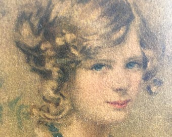 Alice Blue Gown Framed Print