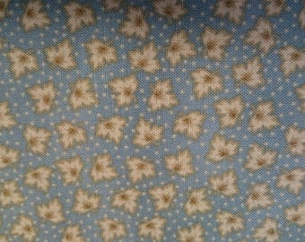 PATCHWORK FABRIC:Winchester Leaf