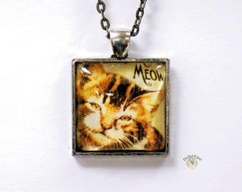 Purrrrring Kitty Necklace #ANPur