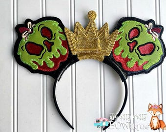 Poison Apple inspired Mouse Ears