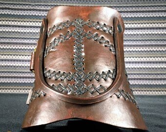 Legacy Bracer, Leather, Hand Made, Single Bracer, 02