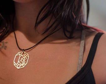 PL Crystal Pendent Necklace V2