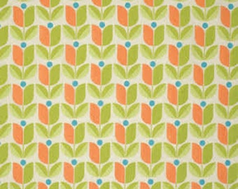 Flora Tulips in Carrot by Joel Dewberry for Free Spirit by the HALF yard, PWJD104-Carro