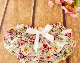 Presale baby girls diaper cover bums, toddler party outfit bloomer photography prop, knot ruffle bloomers