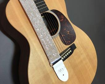 Crystal Guitar Strap