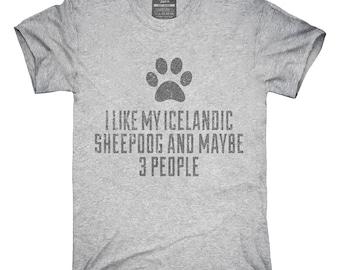 Funny Icelandic Sheepdog T-Shirt, Hoodie, Tank Top, Gifts