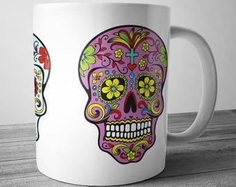 Sugar Skull Mug