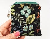 3 colors! Rifle Paper Co fabric Mini Essential Oil Case, Keychain-*YOU PICK* 3 Roller Bottles or 2 of ANY brand essential oils (5ML or 15ML)