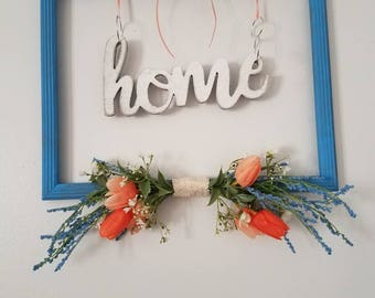 Spring picture frame