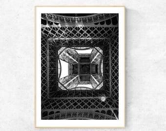 Paris under the Eiffel Tower, Photography - Premium Print