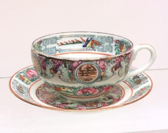 Lord and Taylor Japanese Teacup and Saucer