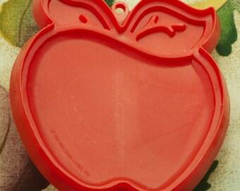 1981 Red Apple Hallmark Vintage Cookie Cutter