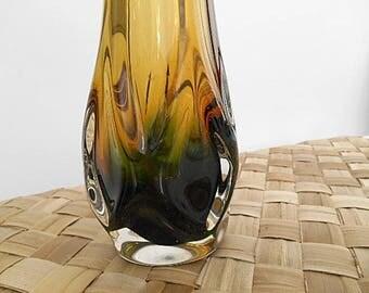 Vintage Murano Finger Art Glass Display Piece - Retro 1960s