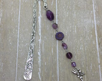Bookmark purple fairy