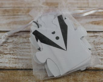 Will You Be My Ring Bearer Card, puzzle card, Will you be my Groomsman card