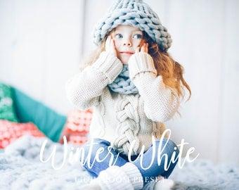 Winter White Adobe Lightroom Preset