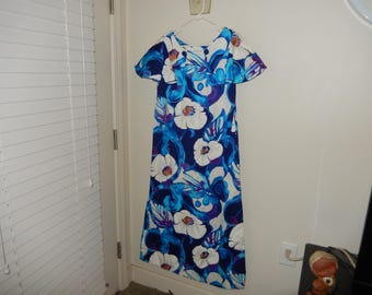 UI MAIKAI Hawaiian Dress - Size Small