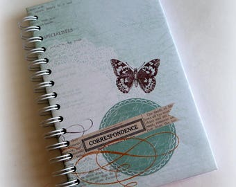 FREE SHIPPING! New 80 pg hardcover journal diary planner j4
