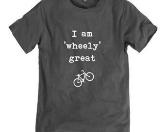 T-shirt - I am 'wheely' great