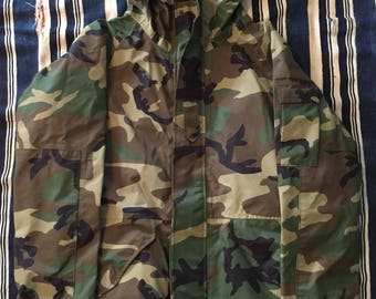 Military Issued Gore-Tex Camo Parka Mens Size Medium