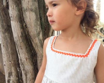 IRIS STRIPES DRESS