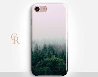 Forest Phone Case For iPhone 8 iPhone 8 Plus - iPhone X - iPhone 7 Plus - iPhone 6 - iPhone 6S - iPhone SE - Samsung S8  iPhone 5 Mountain