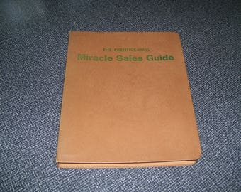 Prentice Hall Miracle Sales Guide Feb 1963 Mid Century Sales Guide