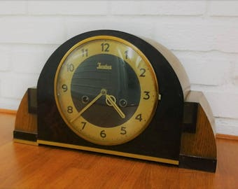 Absolutely Stunning Junghans Baroque Art Deco Mantel Clock Made in Germany