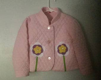 Toddler quilted jacket 1-4t next day shipping