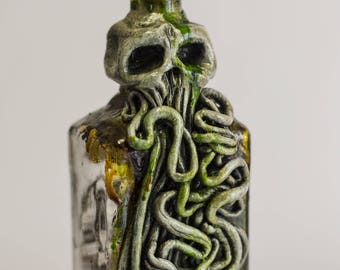 Cthulhu Lovecratian Poison Bottle Apothecary jar