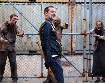 The Walking Dead Season 8.5x11 glossy photo Season 8  Negan Jeffrey Dean Morgan