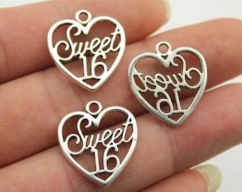 6 Sweet 16 Charms
