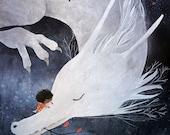 Lámina El dragón blanco