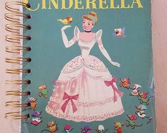 Notebook - Cinder Ella - A5 Rebound Journal