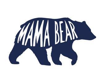Mama Bear Decal No. 8