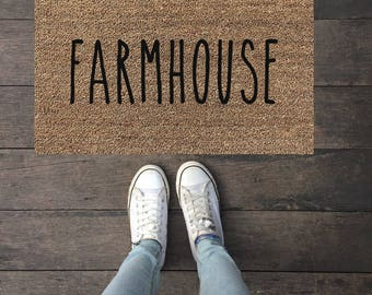 Farmhouse|Doormat