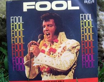 Elvis Presley 45 record / 45 Record / Old Records / 1973 Elvis Presley