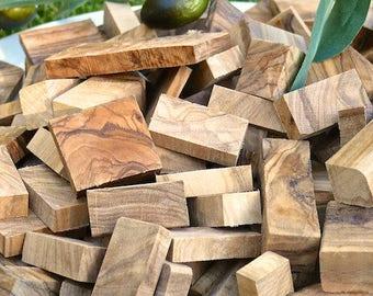 Smoker wood Olive/ chunks olive wood BBQ (1.9 kg/4.2 lbs)