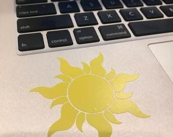 Tangled Sun Decal