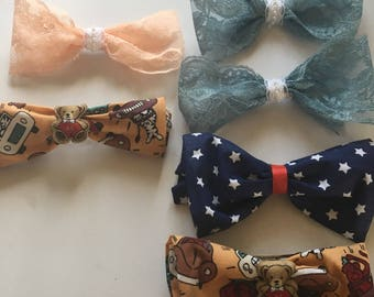Pretty bows for little girls