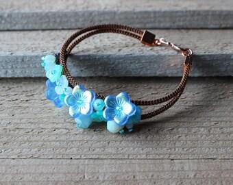 KIT – In Bloom Beaded Bracelet – BLUE