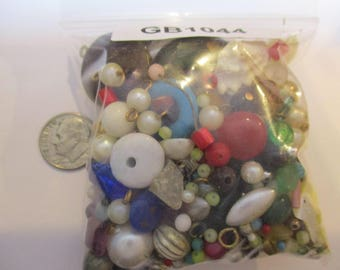 """1044: Vintage bottom of the box finding bag 3"""" x 3"""""""