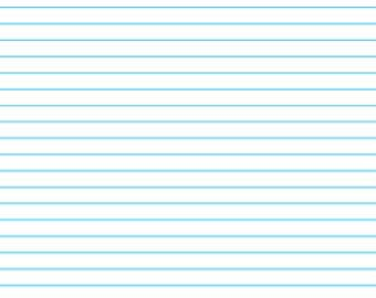 LINED Paper for Discbound Notebooks, Limited Availability