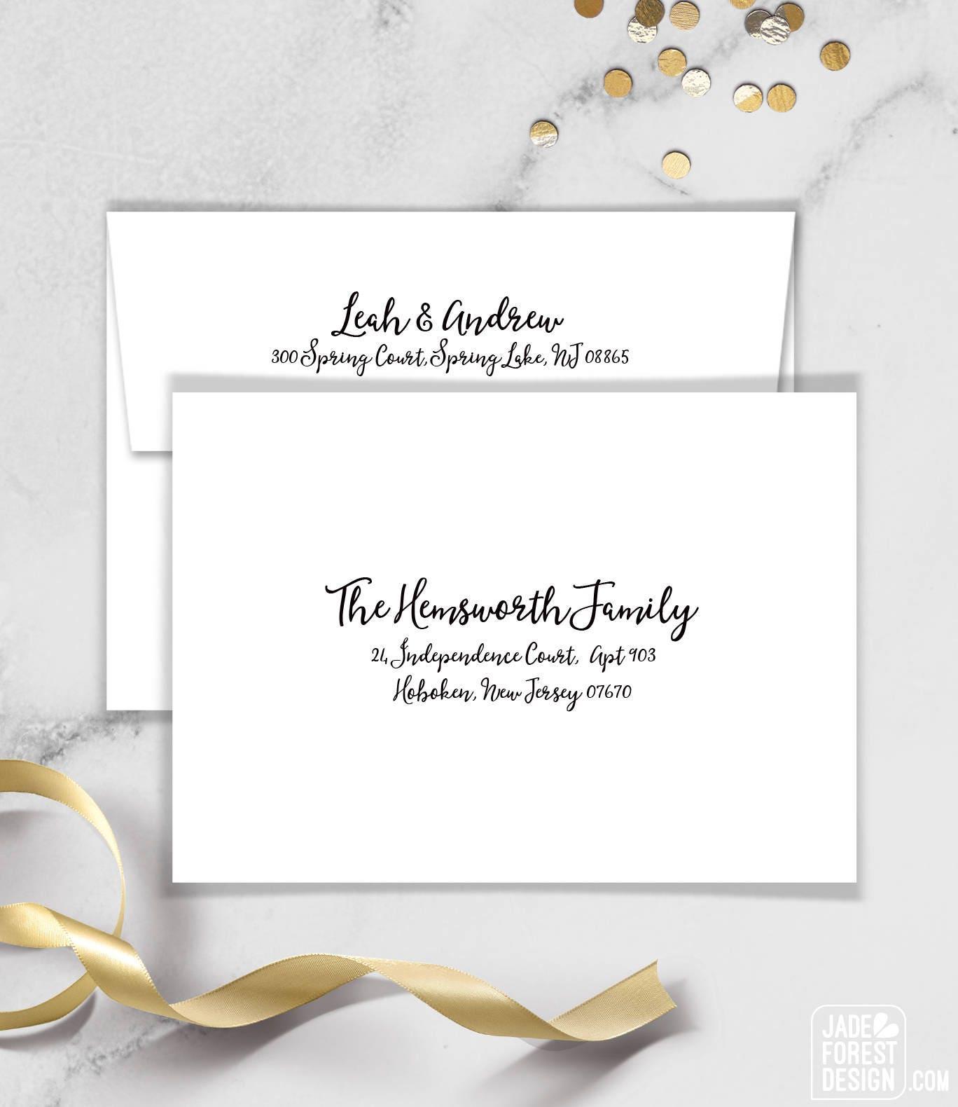 Boho Calligraphy Baby Shower Invitation / Modern Romantic Invite ...